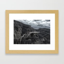 Tornado alley Framed Art Print