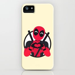 A merc with a heart iPhone Case