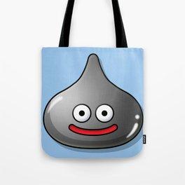 A Metal Slime Draws Near! Command? Tote Bag