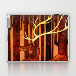 La Majesté du Cerf (The Proud Stag) Laptop & iPad Skin