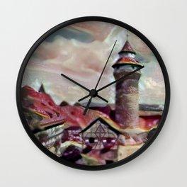 Nuremberg Castle Wall Clock