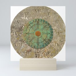 Sundial 01 Mini Art Print