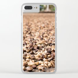 Coffee Plantation 2 Clear iPhone Case