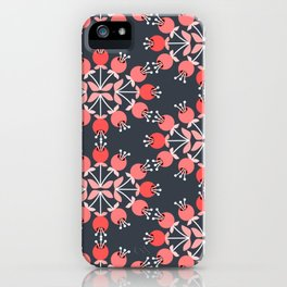 Daily pattern: Retro Flower No.9 iPhone Case