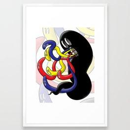 Gross Ghost Prime Framed Art Print