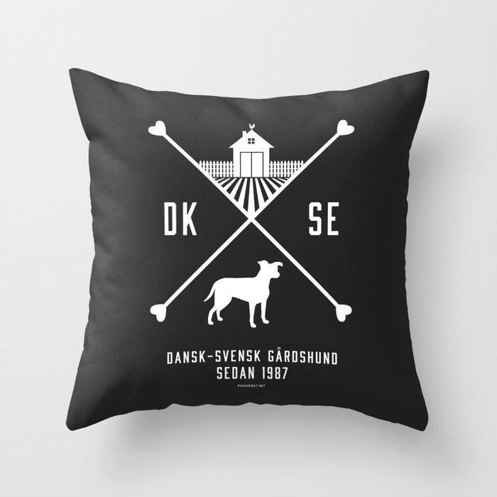 Since 1987 - white Throw Pillow