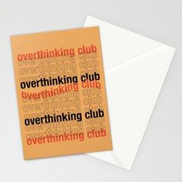 Overthinkg Club Stationery Cards