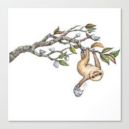 Slow Tea Canvas Print
