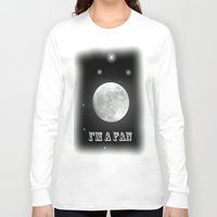 lunar Long Sleeve T-shirts featuring LUNAR by Laake-Photos