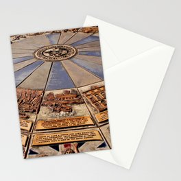 Monmouth's Millennium Ceramic Mosaic Wheel Stationery Cards