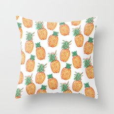 Pineaple express Throw Pillow