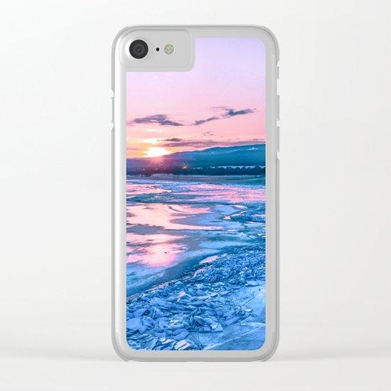 Baikal sunrise Clear iPhone Case