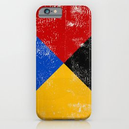 Sailing Nautical Alphabet Letter Z iPhone Case