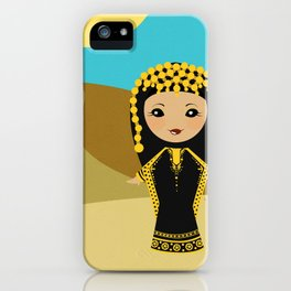 Girls of the World: Qatar iPhone Case
