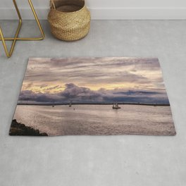 Looking Out to Sea to the Storm Rug