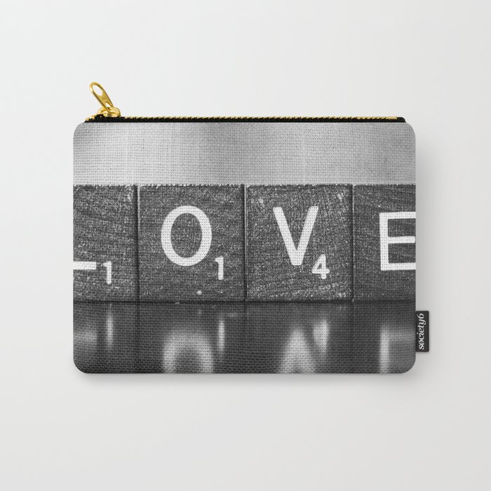 Love is a Beautiful Word - a fine art photograph Carry-All Pouch