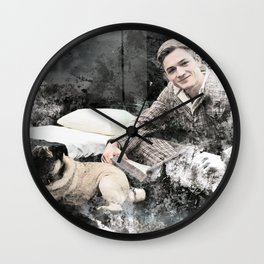 Inktober (Day 7) Wall Clock