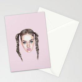 Miss Manga Stationery Cards