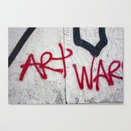 Art War Canvas Print
