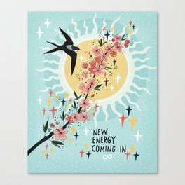 New energy coming in Canvas Print