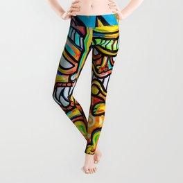 Tiki Gods Leggings