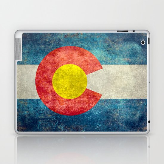 Coloradan State Flag Laptop & iPad Skin