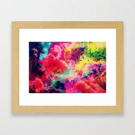 Cosmic Clouds Framed Art Print
