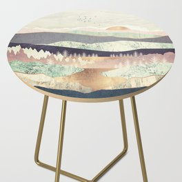 Golden Spring Reflection Side Table