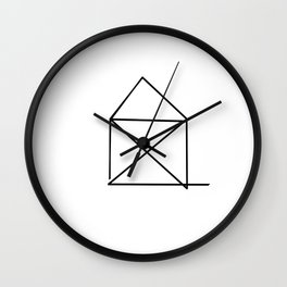 Feels Like Home  Wall Clock