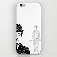 chaplin iPhone & iPod Skins featuring CHAPLIN by ARCHIGRAF