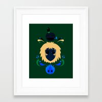 howl Framed Art Prints featuring Howl by Ashley Hay