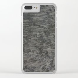 Salted Black Clear iPhone Case