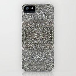 Facing Granite Pattern iPhone Case
