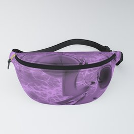 Alien space travel in purple and pink Fanny Pack