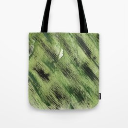 Abstract green painting Tote Bag