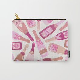 French Champagne Collection – Pink Carry-All Pouch