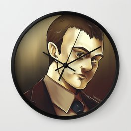 In the Flesh - Philip Wilson Wall Clock
