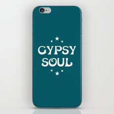 Gypsy Soul Mystical Stars Teal iPhone Skin
