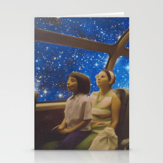 Space Holiday Stationery Cards