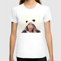 onesie T-shirts featuring Panda Onesie Nomi by Naomi Shingler