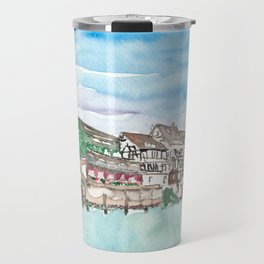 Strasbourg Alsace France Petite France Ill Waterfront Travel Mug