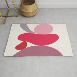 Scoop // Abstract in Pink Rug