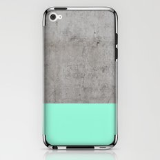 Sea on Concrete iPhone & iPod Skin