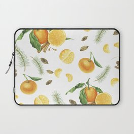 Tangerines, spices and branches of tree Laptop Sleeve