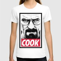 cook T-shirts featuring Cook by Shine Out