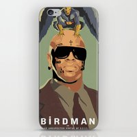 birdman iPhone & iPod Skins featuring Birdman by EZCO