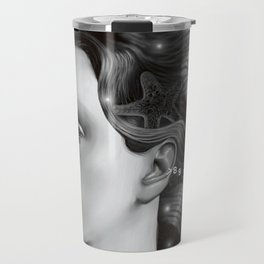 Woman from Stars Travel Mug
