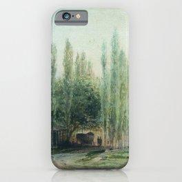 Sukhum Kale 1873 By Lev Lagorio   Reproduction   Russian Romanticism Painter iPhone Case