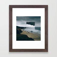 The Tide (I am).  Framed Art Print