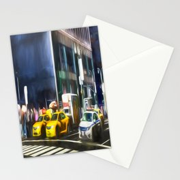 New York Street Art Stationery Cards
